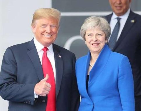 TT Trump toi Anh dam phan va thuong tra giua bien dong Brexit hinh anh