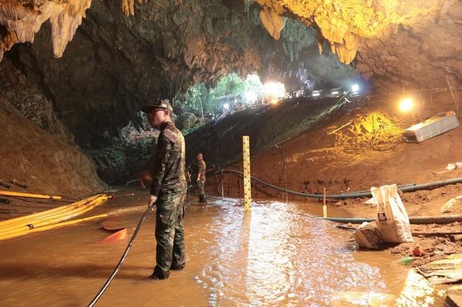 Thai Lan du dinh nang cap hang Tham Luang thanh bao tang hinh anh 1
