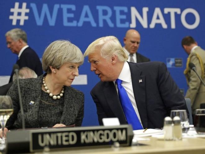 TT Trump toi Anh dam phan va thuong tra giua bien dong Brexit hinh anh 1