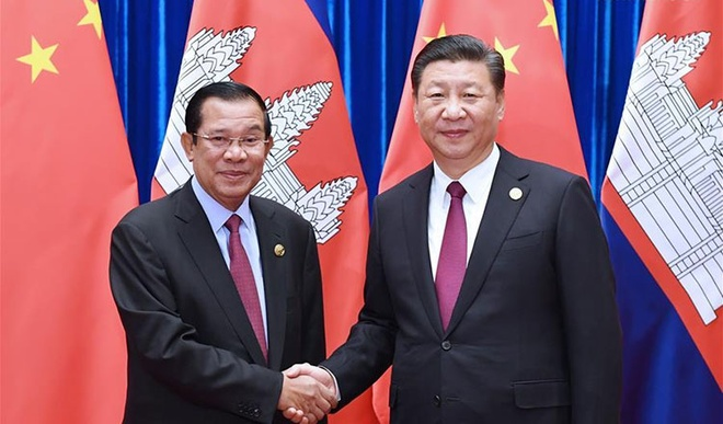 Trung Quoc vien tro Campuchia anh 1