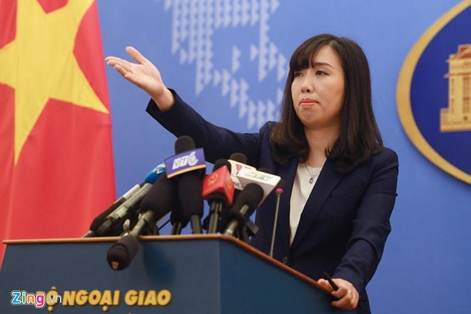 Bo Ngoai giao phan hoi thong tin VN mua 100 trieu USD vu khi tu My hinh anh 1