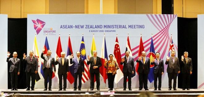 ASEAN - Trung Quoc dien tap hang hai vao cuoi nam hinh anh