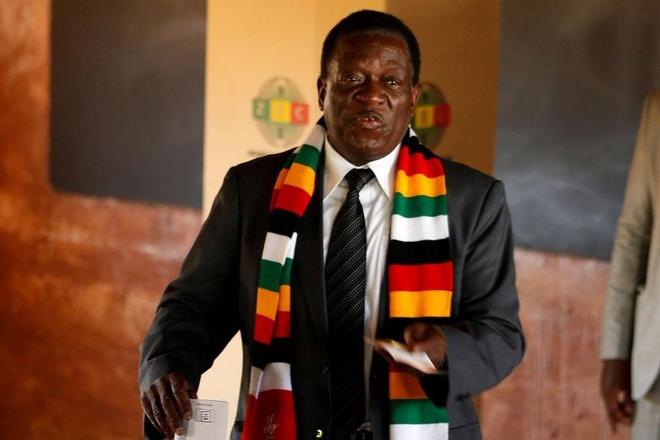 Tong thong 'ca sau' tai dac cu o Zimbabwe, phe doi lap to ket qua gia hinh anh 1