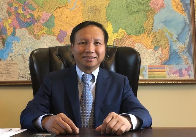 DS Ngo Duc Manh: Quan he Viet - Nga phat trien manh me, do tin cay cao hinh anh