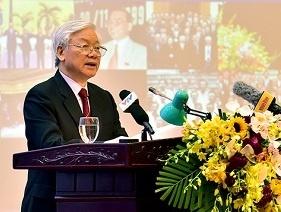 Khai mac Hoi nghi Ngoai giao toan quoc lan thu 30 tai Ha Noi hinh anh