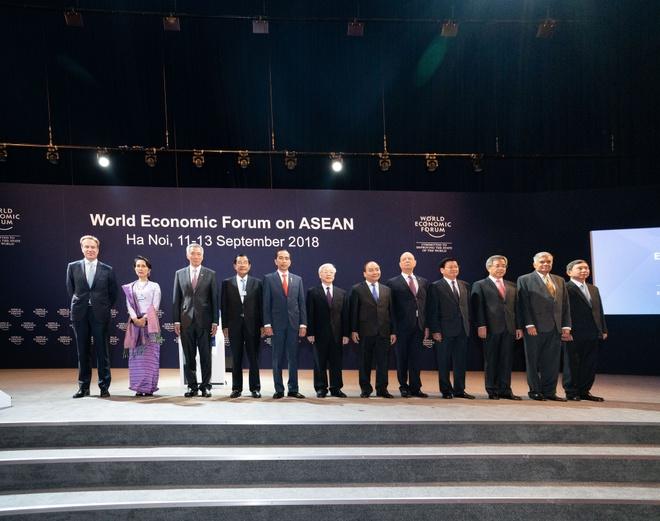 WEF ASEAN o Ha Noi thanh cong nhat trong 27 nam qua hinh anh 1