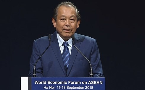 Be mac 'ngay hoi giao luu y tuong' WEF ASEAN hinh anh 1