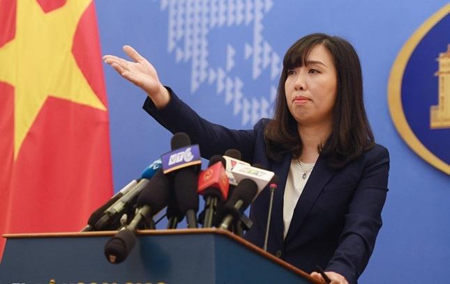 Viet Nam len tieng ve hoat dong cua tau Anh, Nhat tren Bien Dong hinh anh