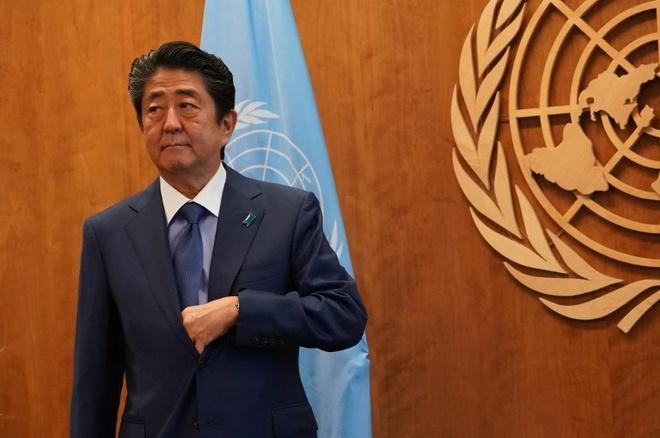 Thu tuong Abe tuyen bo san sang gap lanh dao Kim Jong Un hinh anh