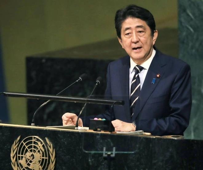 Thu tuong Abe tuyen bo san sang gap lanh dao Kim Jong Un hinh anh 1