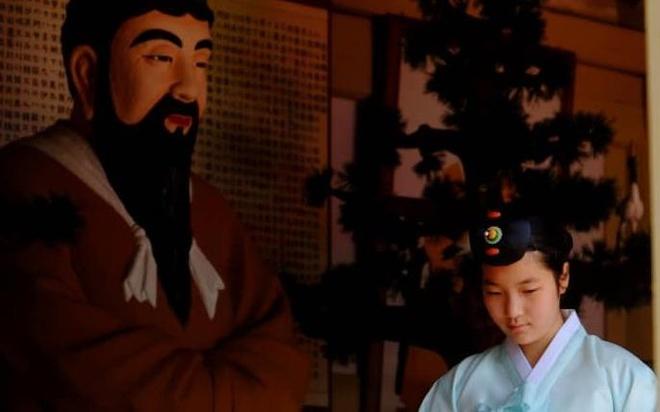 Bi an hai cot cua vi vua lap quoc va giac mo thong nhat Han - Trieu hinh anh