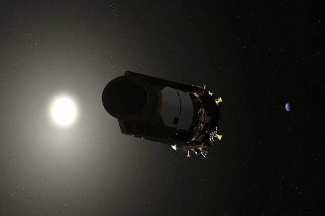 Kính Viễn Vọng Kepler Của Nasa Đã Cạn Nhiên Liệu Và Sẽ Kết Thúc Nhiệm Vụ  Trong Không Gian. Ảnh: Nasa.