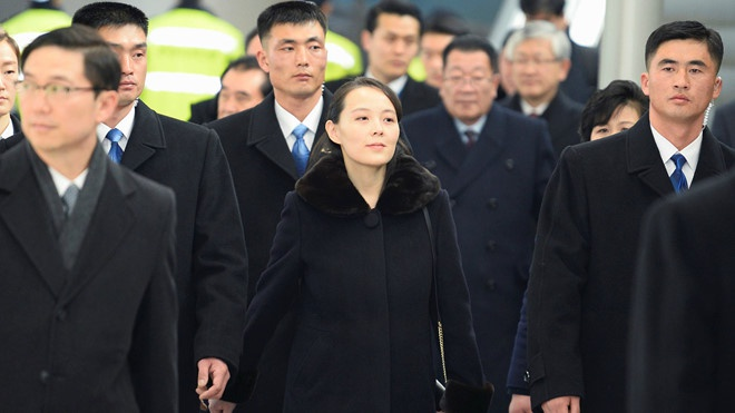 Net duyen tham va phong cach thoi trang gian di cua em gai Kim Jong Un hinh anh 10