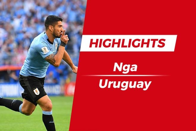 Highlights Nga 0-3 Uruguay: Suarez, Cavani toa sang hinh anh