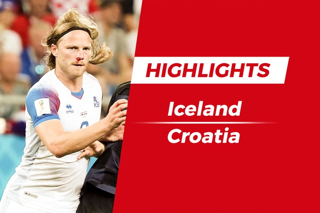 Highlights Iceland 1-2 Croatia: Chien thang xung dang hinh anh