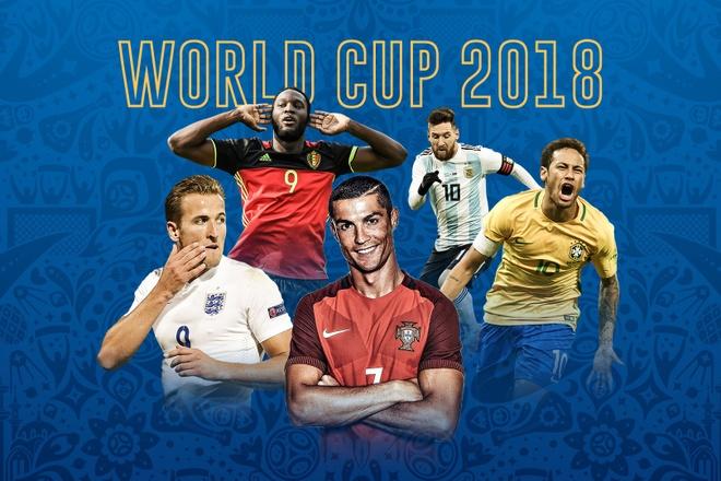 Messi lep ve truoc Ronaldo o vong bang World Cup 2018 hinh anh