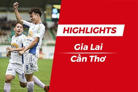 Highlights HAGL 3-1 CLB Can Tho: Van Toan lap cong hinh anh