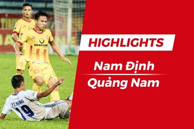 Highlights CLB Nam Dinh 1-1 CLB Quang Nam hinh anh