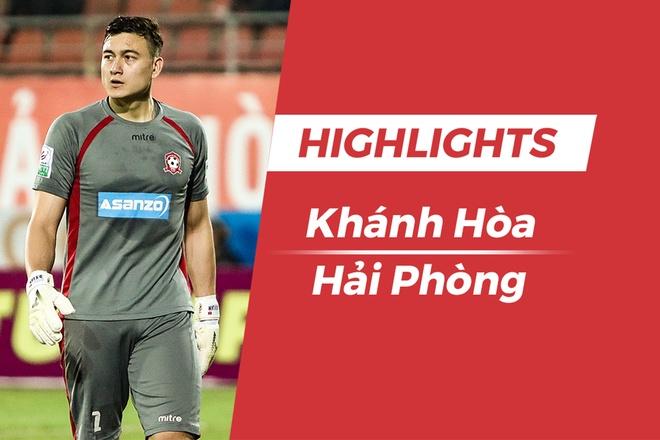 Highlights CLB Khanh Hoa - CLB Hai Phong hinh anh