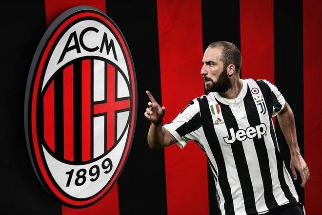 Higuain dat chan den Milan, Bonucci tro lai Juventus? hinh anh