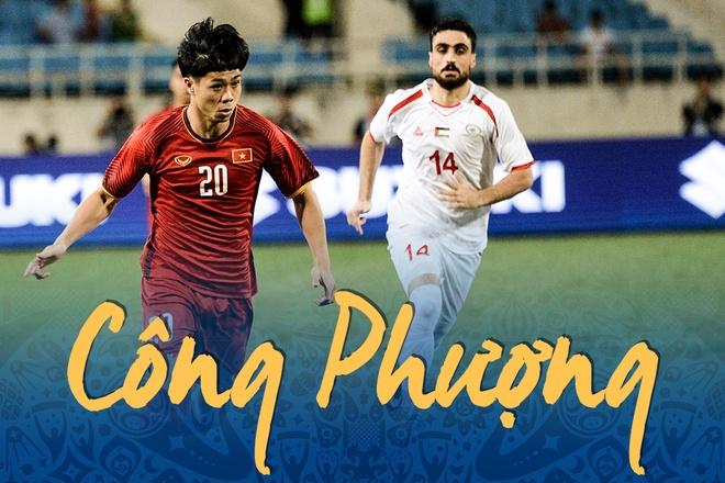 Man trinh dien cua Cong Phuong trong tran gap Palestine hinh anh