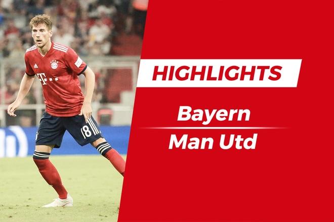 Highlights Bayern 1-0 Man Utd: The tran mot chieu hinh anh