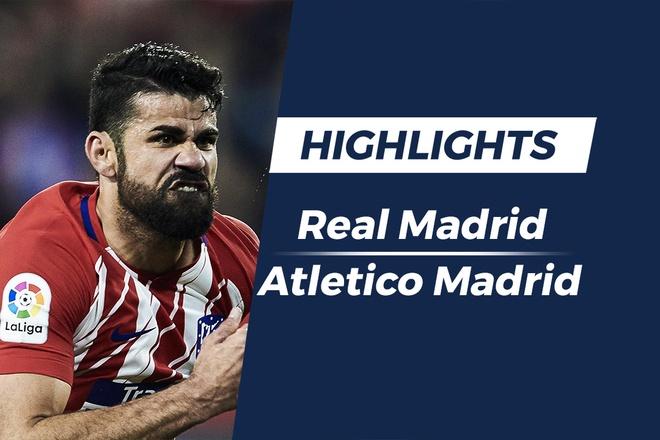 Highlights Real Madrid 2-4 Atletico Madrid: Nguoc dong ngoan muc hinh anh