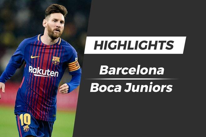 Highlights Messi ghi ban giup Barca danh bai doi bong que nha hinh anh