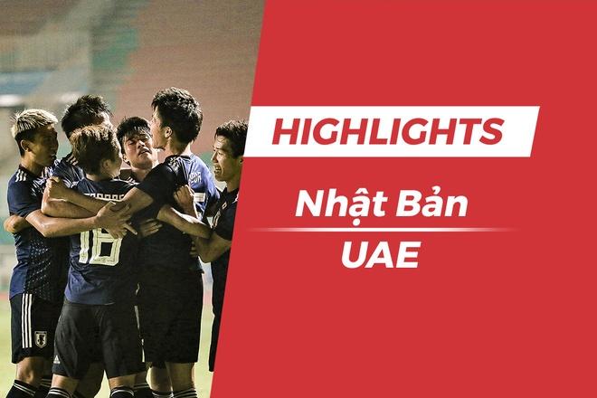 Highlights Olympic Nhat Ban 1-0 UAE: 'Samurai xanh' vao chung ket hinh anh