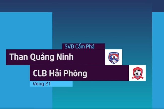 Highlights CLB Quang Ninh 3-3 CLB Hai Phong: Ruot duoi kich tinh hinh anh