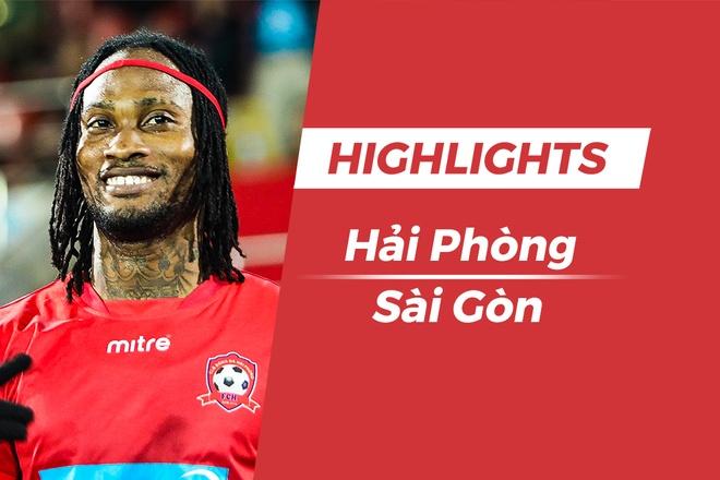Highlights CLB Hai Phong - CLB Sai Gon: Fagan toa sang hinh anh