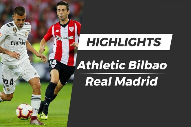 Highlights Athletic Bilbao 1-1 Real Madrid hinh anh