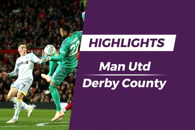 Highlights Man Utd - Derby County: Thu mon Romero mac loi nghiem trong hinh anh
