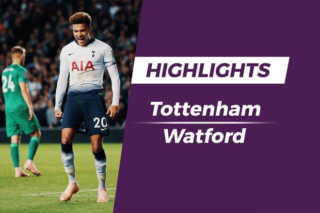 Highlights Tottenham vuot qua Watford tren cham luan luu hinh anh