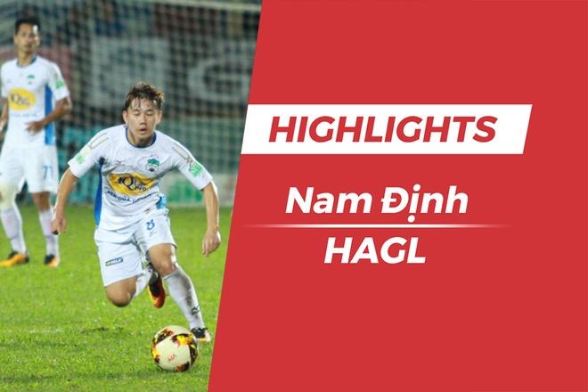 Highlights Clb Nam Dinh 0-2 Hagl: Minh Vuong, Cong Phuong Ghi Ban