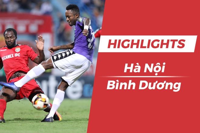 Highlights CLB Ha Noi 2-0 CLB Binh Duong: Samson toa sang hinh anh