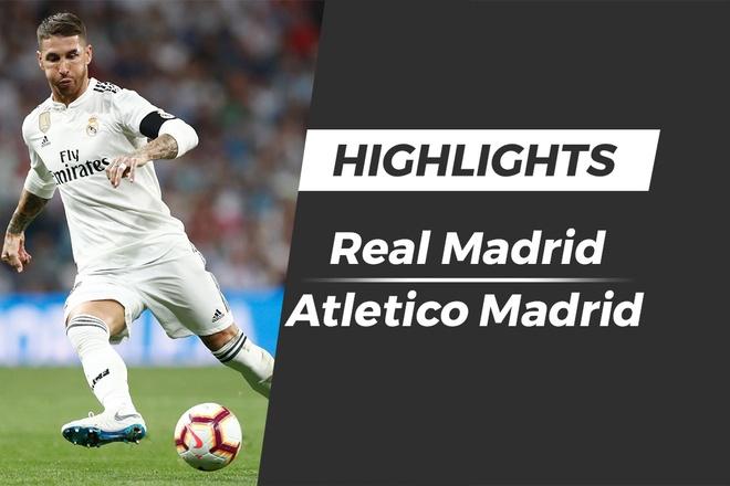 Highlights Real - Atletico: Bat phan thang bai hinh anh