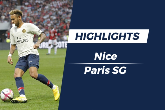 Highlights PSG thang Nice trong ngay Neymar lap hat-trick hut hinh anh