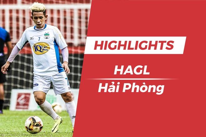 Highlights HAGL vs CLB Hai Phong: Chia diem dang tiec hinh anh