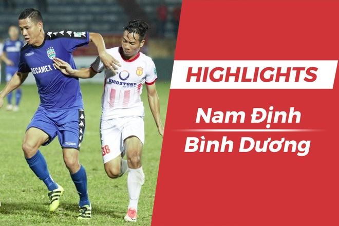 Highlights CLB Nam Dinh thang Binh Duong, nuoi hy vong tru hang hinh anh