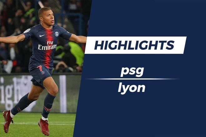 Mbappe ghi 4 ban trong 13 phut, PSG thang Lyon 5-0 hinh anh