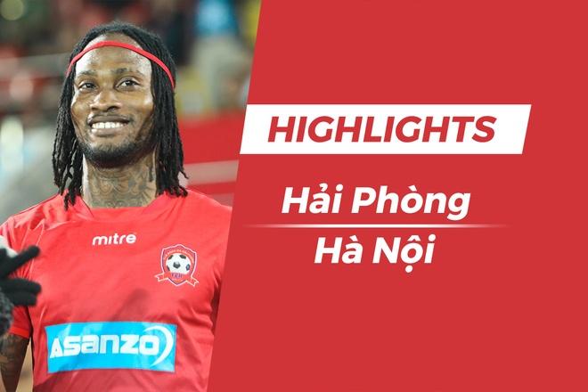 Highlights CLB Hai Phong thang CLB Ha Noi trong ngay ha man V.League hinh anh
