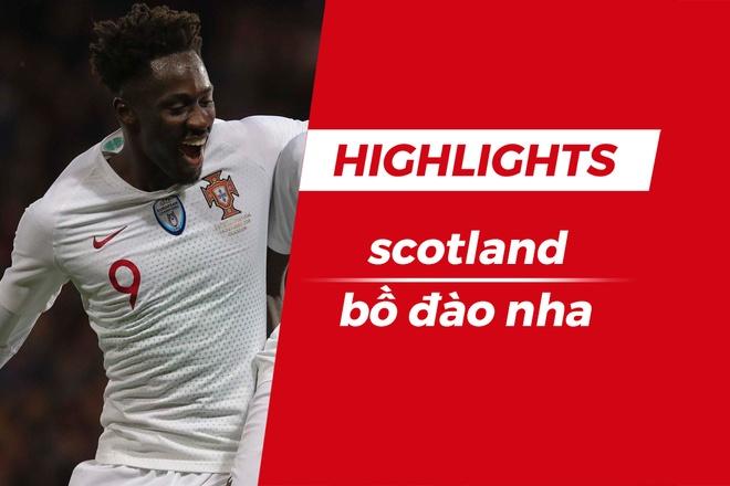 Nguoi hung chung ket EURO 2016 ghi ban, Bo Dao Nha thang Scotland 3-1 hinh anh