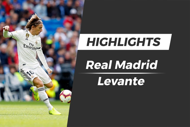 Highlights Real Madrid thua soc Levante hinh anh