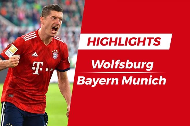 Lewandowski toa sang, Bayern danh bai Wolfsburg hinh anh