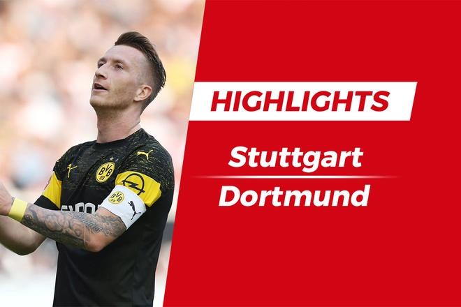 Highlights chien thang 4-0 cua Dortmund truoc Stuttgart hinh anh