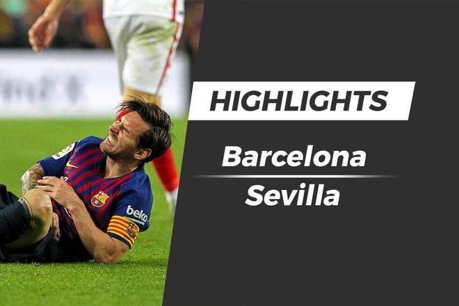 Highlights Barcelona 4-2 Sevilla: Messi dinh chan thuong hinh anh