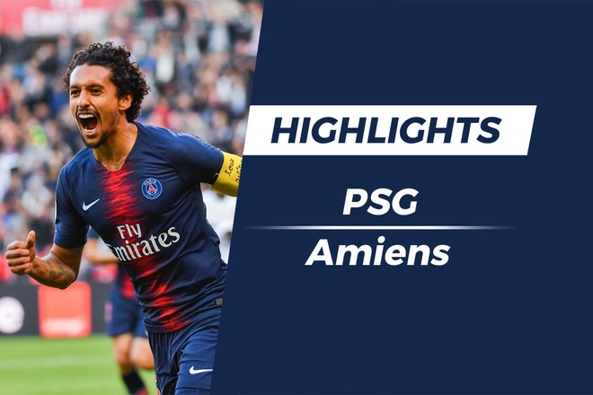 Highlights PSG 5-0 Amiens: Noi dai ky luc hinh anh