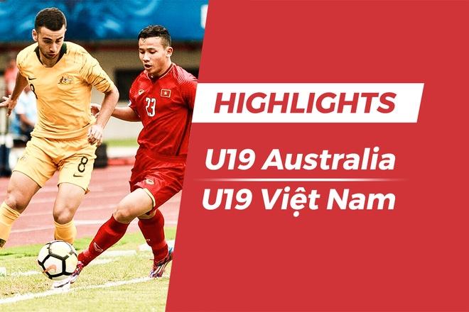 Highlights U19 Viet Nam 1-2 U19 Australia hinh anh