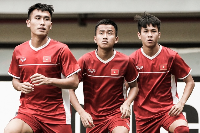 Lich thi dau U19 chau A: U19 Viet Nam dat muc tieu co diem hinh anh